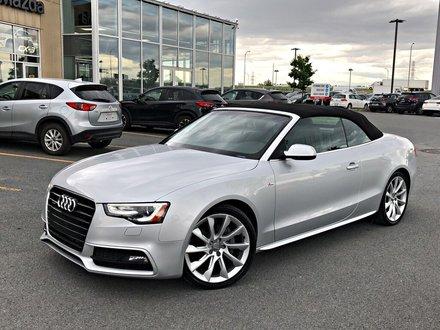 Audi A5 2.0 Progressiv S-LINE + CONVERTIBLE + NAVI + AWD 2014