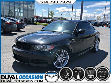 2011 BMW 135 I + M PACKAGE + CUIR ROUGE + TOiT OUVRANT