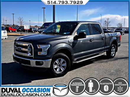 Ford F-150 XLT SUPER CREW + V8 + MARCHE PIED 2015