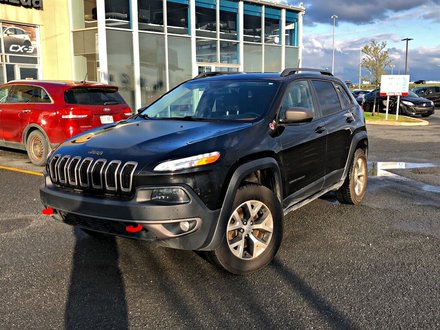 Jeep Cherokee Trailhawk + AWD + CUIR + SIÈGES CHAUFFANTS 2016