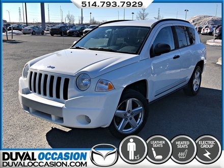 2009 Jeep Compass Limited + 4X4 + CUIR + SIEGES CHAUFFANT