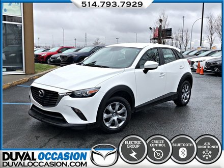 Mazda CX-3 GX + AWD + CAMERA DE RECUL 2017