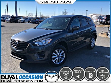 Mazda CX-5 GX + GROUPE COMMODITÉ + BLUETOOTH 2016
