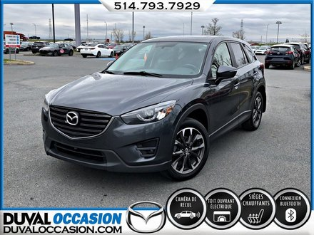 2016 Mazda CX-5 GT + CUIR + TOIT OUVRANT + NAVIGATION