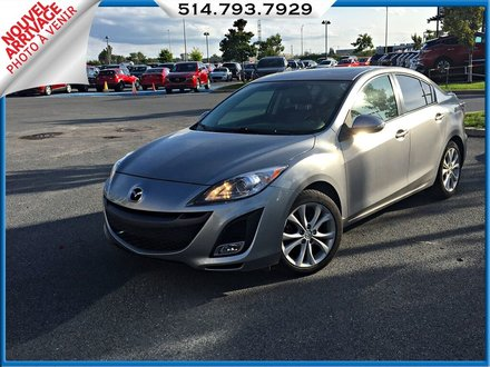 Mazda3 GT + AUTOMATIQUE + BLUETOOTH 2010