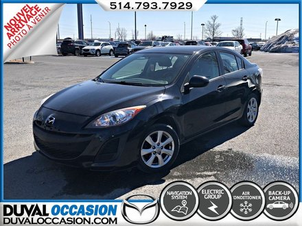 2011 Mazda Mazda3 GX + ECRAN TACTILE + BLUETOOTH + NAVIGATION