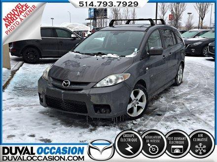2007 Mazda Mazda5 GT + TOIT OUVRANT +*** SEULEMENT 108 000 KM ***