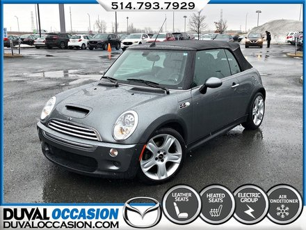 2007 MINI Cooper S CONVERTIBLE + CLIMATISATION + CUIR