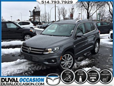 Volkswagen Tiguan Highline AWD + TOIT OUVRANT + CUIR 2016