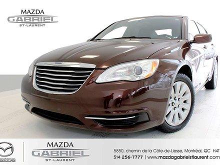 2012 Chrysler 200 LX+ SEULEMENT 47 000KM + REGULATEUR DE VITESSE