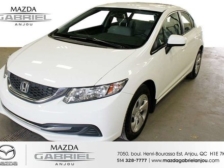 2015 Honda Civic LX+CAM+ **BAS KM*