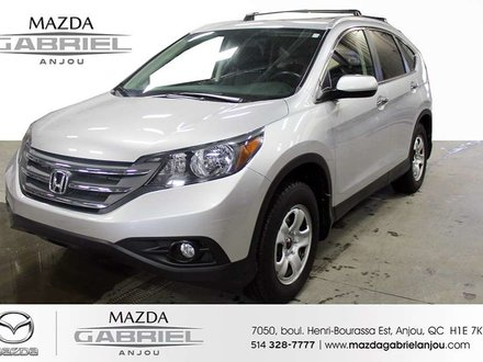 Honda CR-V TOURING+GPS+CUIR JAMAIS ACCIDENTE 2013