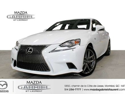 2014 Lexus IS 250 AWD F SPORT + JAMAIS ACCIDENTE +