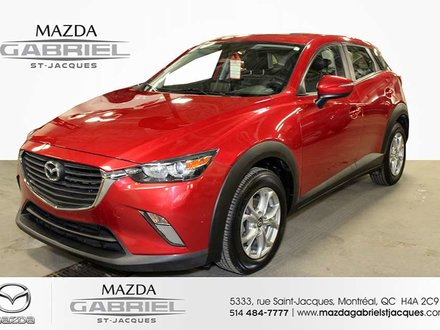 2016 Mazda CX-3 GS FWD +BLUETOOTH+CRUISE+CAMERA DE RECUL