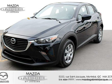 2016 Mazda CX-3 GX FWD +BLUETOOTH+CRUISE+CAMERA DE RECUL