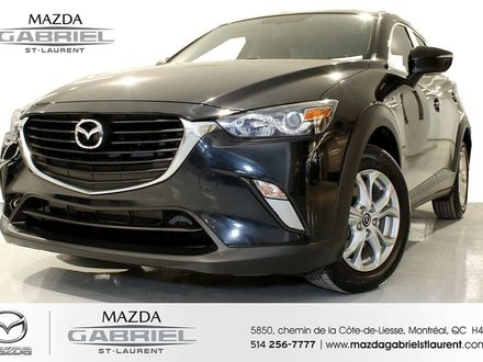 Mazda CX-3 GS + SEULEMENT 31 000km+ JAMAIS ACCIDENTE + UN SEUL PROPRIO 2016