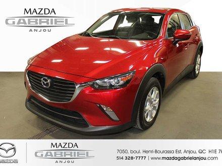 Mazda CX-3 GSL+CUIR+AWD+NAV *****JAMAIS ACCIDENTÉ ET 1 SEUL PROPRIÉTAIRE***** 2016