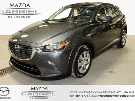 2017 Mazda CX-3 GX FWD +BLUETOOTH+CRUISE+CAMERA DE RECUL