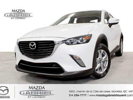 2017 Mazda CX-3 GS +  SEULEMENT 21 000KM + JAMAIS ACCIDENTE