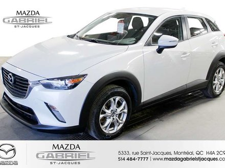 2017 Mazda CX-3 GS AWD +BLUETOOTH+CRUISE+CAMERA DE RECUL
