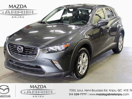 2017 Mazda CX-3 GS+DEMARREUR+CAM