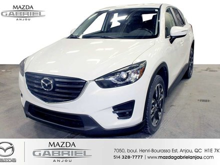 Mazda CX-5 GT+GPS+AWD JAMAIS ACCIDENTE 2016