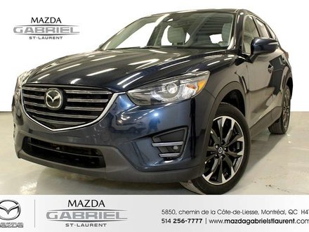 2016 Mazda CX-5 GT AWD TECH CUIR + TOIT OUVRANT