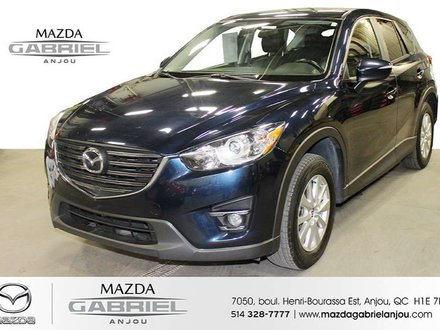 2016 Mazda CX-5 GS LUXURY AWD DEMARREUR A DISTANCE+ SUNROOF CUIR+ BACK UP CAMERA+ HEATED SEATS+ AC+ DETECTEUR ANGLE MORT + MAGS+ BANC ELECTRIQUE
