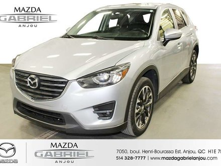2016 Mazda CX-5 GT AWD +DEMARREUR DEMARREUR A DISTANCE+ AWD+ SUNROOF+ CUIR+ BACK UP CAMERA+ HEATED SEATS+ AC+ BOSE SOUND SYSTEM+ DETECTEUR ANGLE