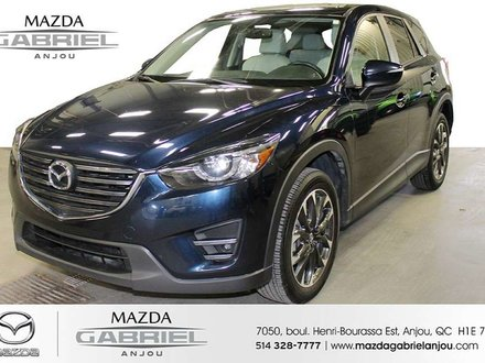 2016 Mazda CX-5 GT AWD DEMARREUR A DISTANCE+ AWD+ SUNROOF+ CUIR+ BACK UP CAMERA+ HEATED SEATS+ AC+ BOSE SOUND SYSTEM+ DETECTEUR ANGLE MORT + MAG