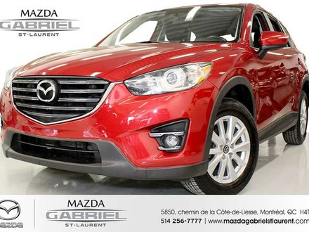2016 Mazda CX-5 GS-L AWD + CUIR+ ONE OWNER+ NO ACCIDENT