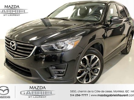 Mazda CX-5 GT AWD + CUIR +  TOIT OUVRANT +  GPS NAV 2016