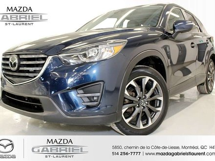 2016 Mazda CX-5 Grand Touring AWD + AWD + TOIT + CUIR + JANTES + BLUETOOTH + GPS +