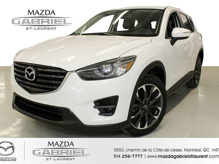 2016 Mazda CX-5 GT AWD + TOIT + CUIR + GPS + BLUETOOTH + CAMERA DE RECULE + DEMARREUR A DISTANCE +