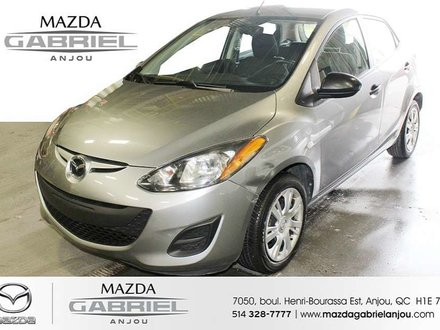Mazda2 Sport+PNEU HIVER AC, PNEU HIVER, 1 PROPRIÉTAIRE    7050, BOUL HENRI-BOURASSA EST    ANJOU H1E7K7    MAZDA GABRIEL ANJOU 5 2014
