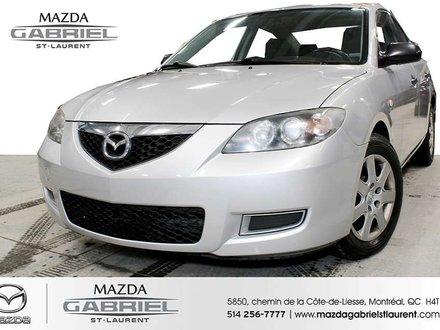 Mazda Mazda3 GX + A/C +  SEULEMENT 126 000KM 2007