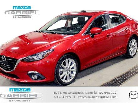 2014 Mazda Mazda3 GT +BLUETOOTH+CRUISE+CAMERA DE RECUL