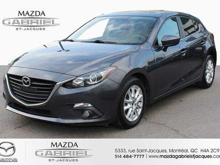 2014  Mazda3 GS +BLUETOOTH+CRUISE+CAMERA DE RECUL