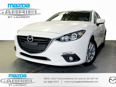 Mazda Mazda3 GS  SPORT + TOIT  GPS NAV + CAMERA DE RECUL 2015
