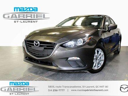 Mazda Mazda3 GS  SPORT + CAMERA DE RECUL+ SIEGES CHAUFFANTS 2015