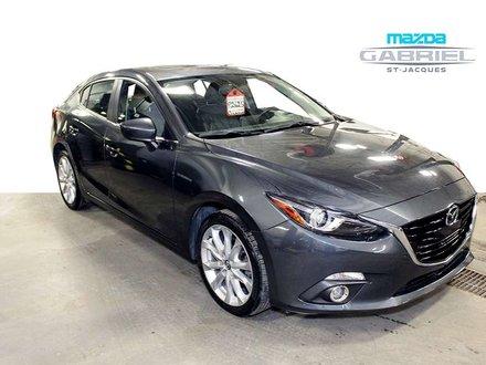 Mazda Mazda3 GT +BLUETOOTH+CRUISE+CUIR 2015