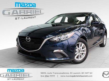 Mazda Mazda3 GS+ BLUETOOTH+  SEULEMENT 44 000KM + SIEGES CHAUFFANTS 2015