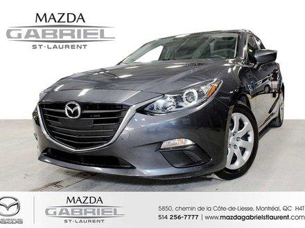 Mazda Mazda3 GX + A/C +  SEULEMENT 34 000KM + JAMAIS ACCIDENTE 2015