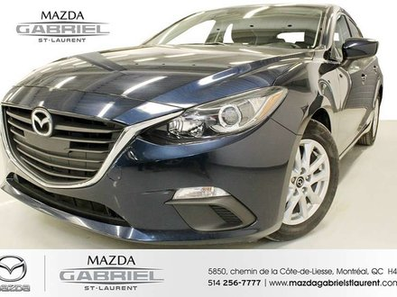 2015  Mazda3 GS + BLUETOOTH+  SEULEMENT 20 000KM + UN SEUL PROPRIO