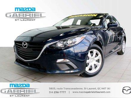 Mazda Mazda3 GX+ BLUETOOTH+  CAMERA DE RECUL +JAMAIS ACCIDENTE 2016