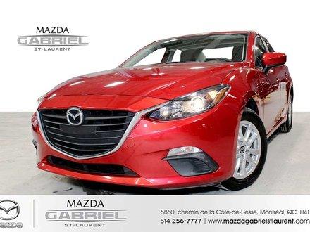 2016 Mazda Mazda3 GS +  SEULEMENT 31 000KM + JAMAIS ACCIDENTE