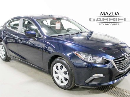 Mazda Mazda3 GX +BLUETOOTH+CRUISE+CAMERA DE RECUL 2016
