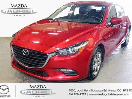 Mazda3 GX+A/C+BAS KM JAMAIS ACCIDENTÉ!!!!!!!! 2017