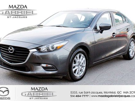 Mazda3 SE +BLUETOOTH+CRUISE+CAMERA DE RECUL 2017