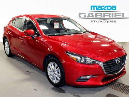 Mazda Mazda3 GS  +BLUETOOTH+CRUISE+CAMERA DE RECUL 2018